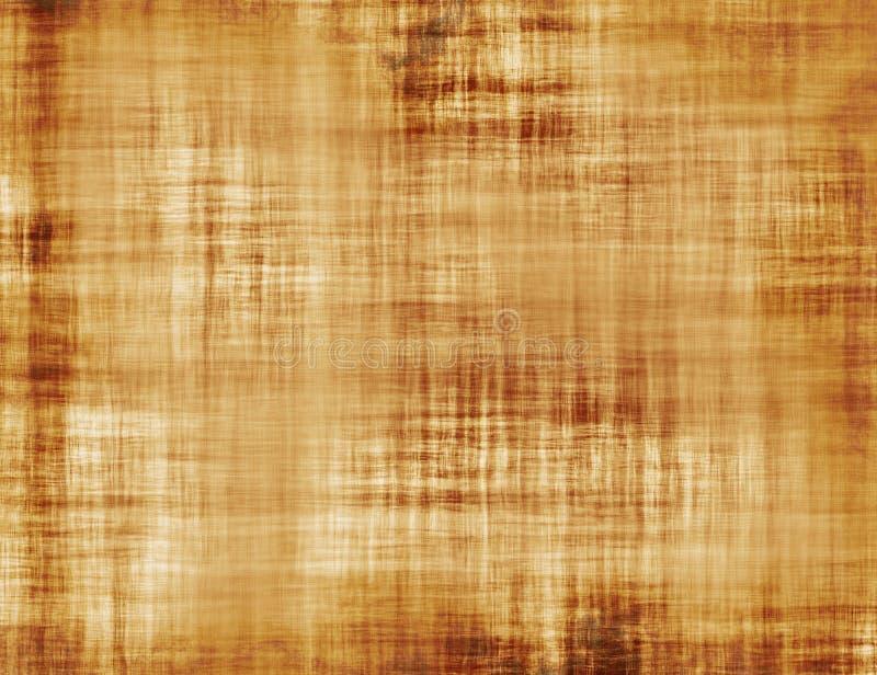 Leeg Rusty Vintage Paper Texture. Grungeachtergronden stock illustratie