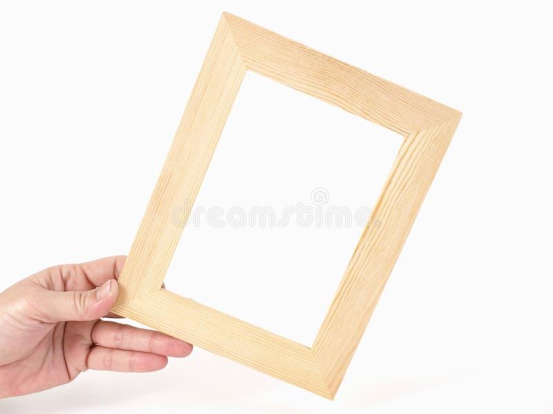 Leeg Tan Frame stock afbeelding