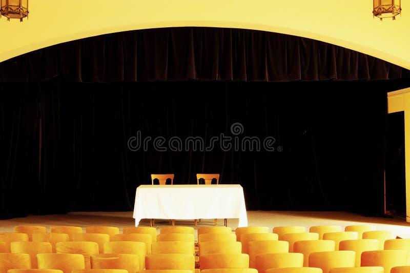 Leeg theater 2 royalty-vrije stock afbeelding