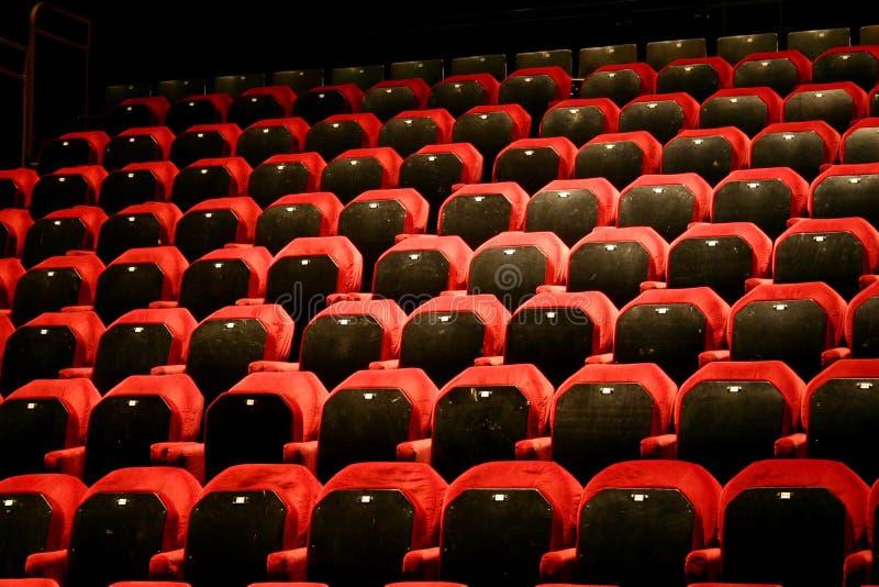 Download Leeg theater stock foto. Afbeelding bestaande uit gevoerd - 287240