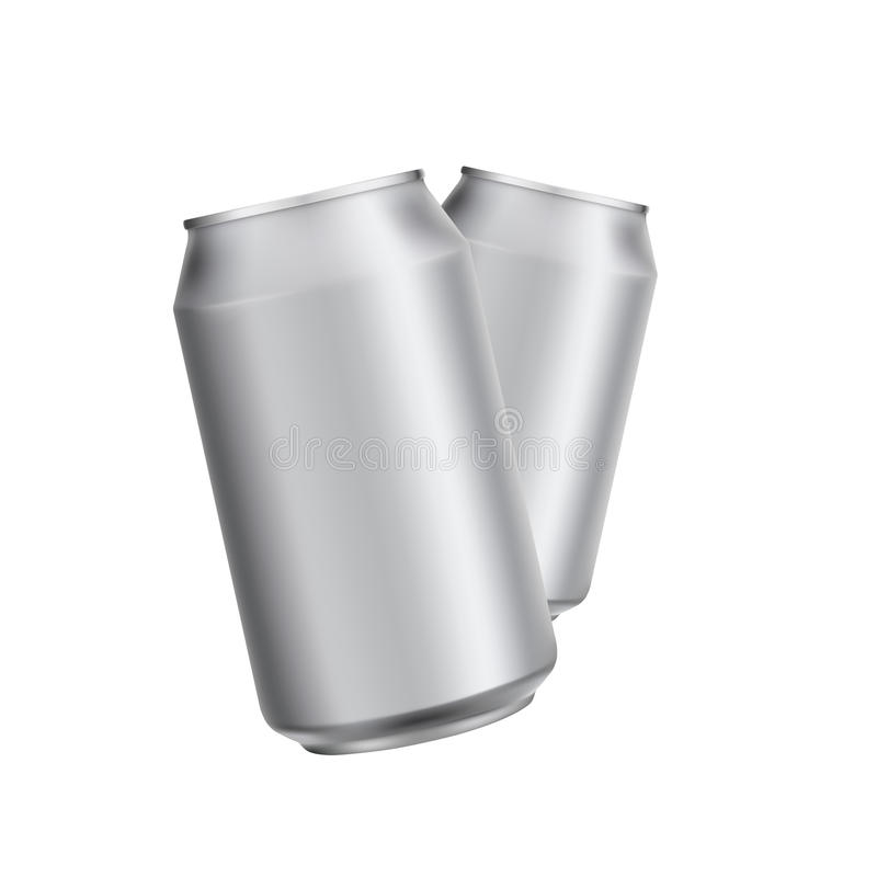 Leeg verpakkend die malplaatjemodel op wit wordt geïsoleerd stock illustratie