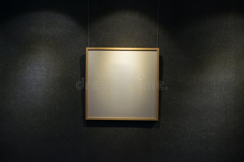 Leeg vertoningskader stock afbeelding