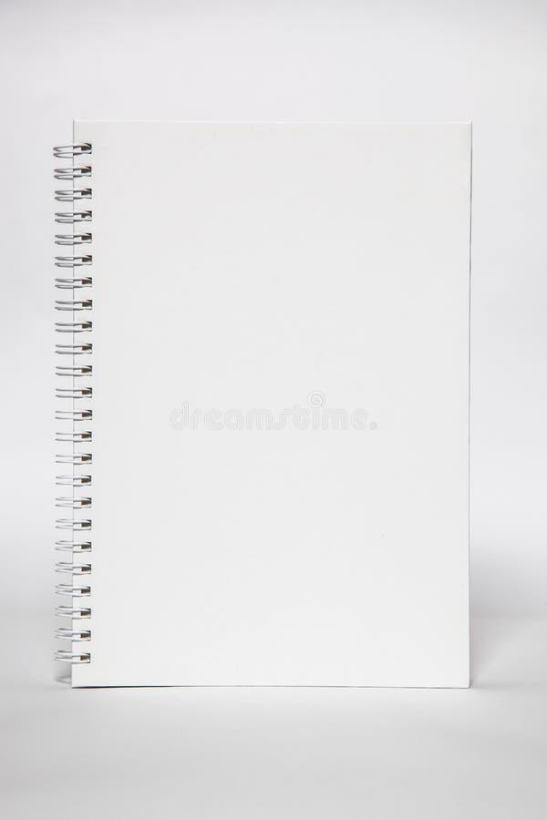 Leeg wit boek stock foto's