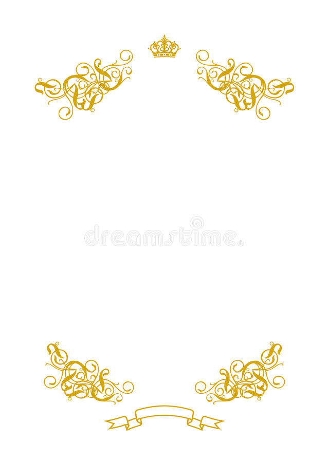Leeg Wit I royalty-vrije illustratie