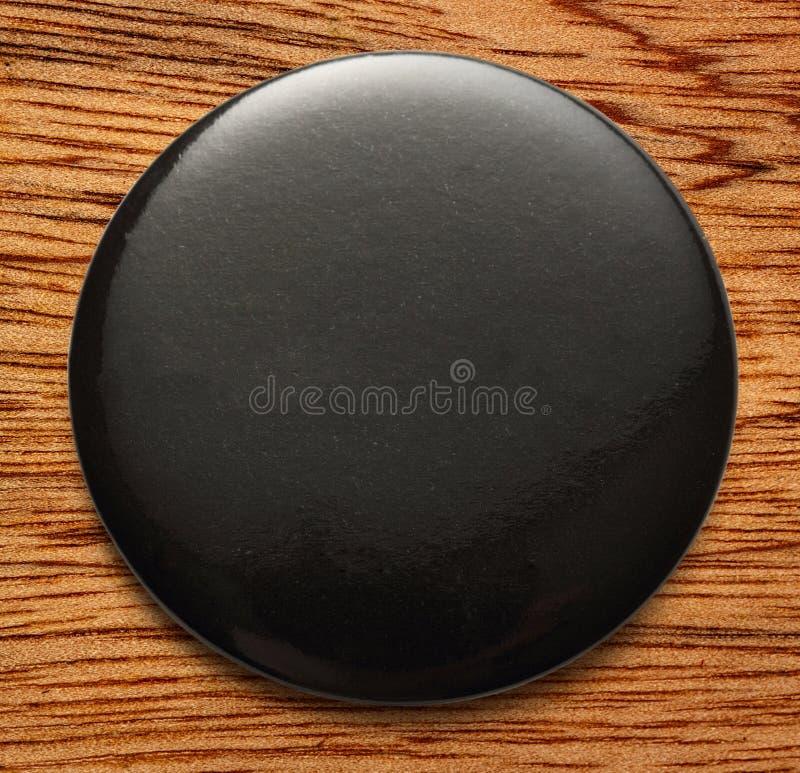 Download Leeg zwart rond kenteken stock afbeelding. Afbeelding bestaande uit kleinhandels - 54078385