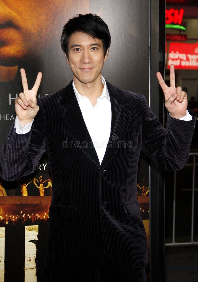 Leehom Wang royalty-vrije stock afbeelding