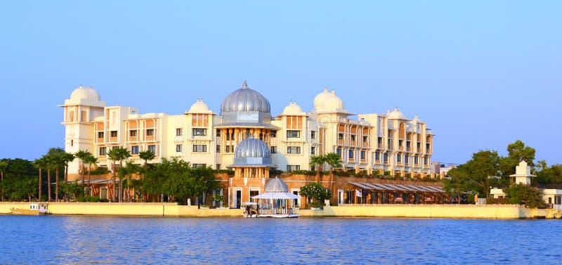 Leela Palace de lac Pichola Udaipur Ràjasthàn Inde photographie stock