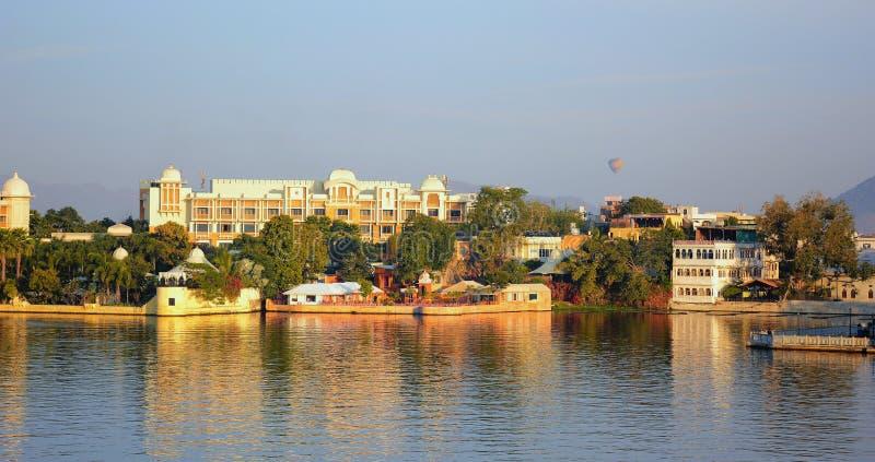 Leela Palace Hotel Lake Pichola image libre de droits