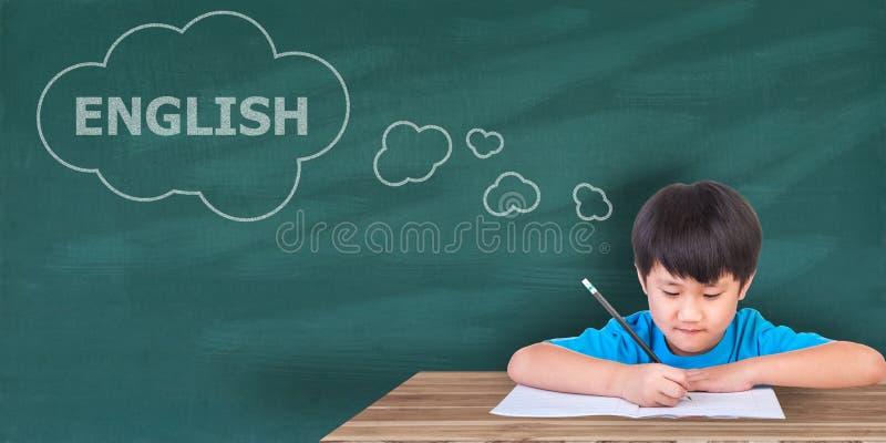 Leer Engelse concepten, stock foto