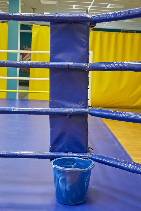 Leere Boxringabstraktion stockfotos