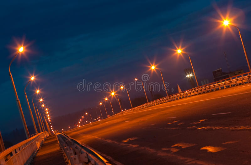 Leere Brücke lizenzfreies stockbild