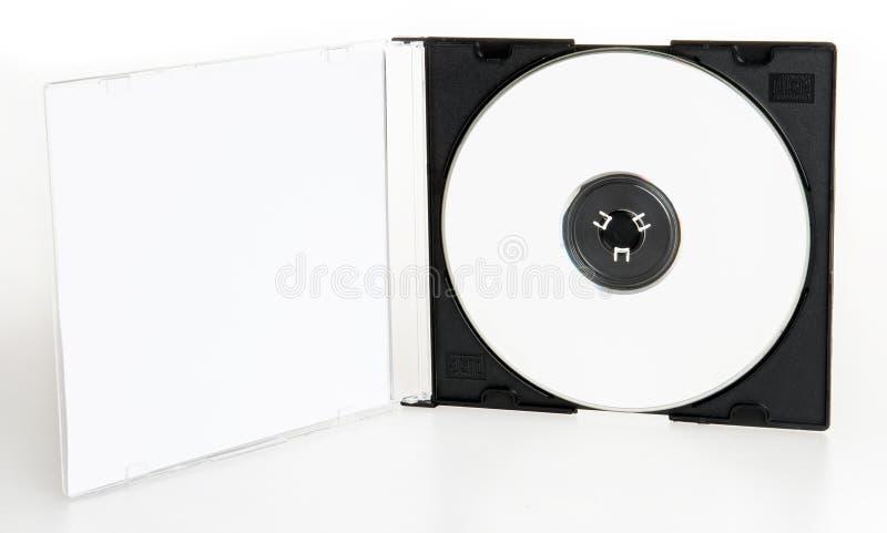 Transparentes Dvd Oder Cd Kasten Stockfoto Bild Von Audio