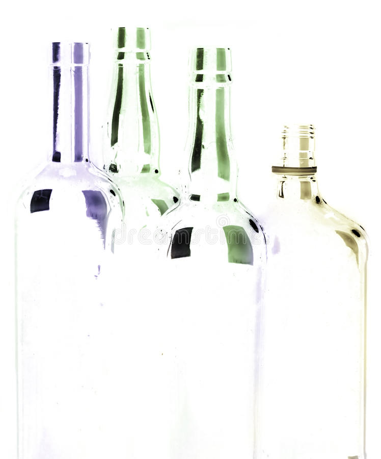Leere Flasche lizenzfreies stockfoto
