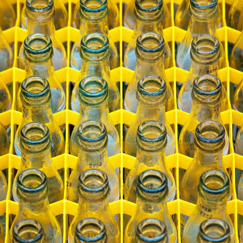Leere Flaschen lizenzfreie stockfotos