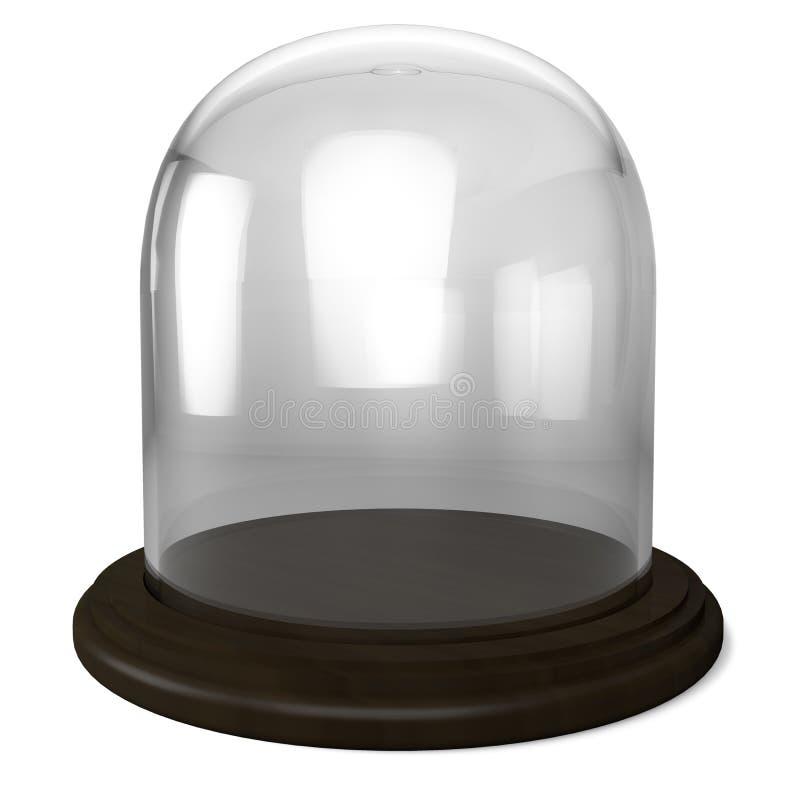 Leere Glaskuppel lizenzfreie abbildung