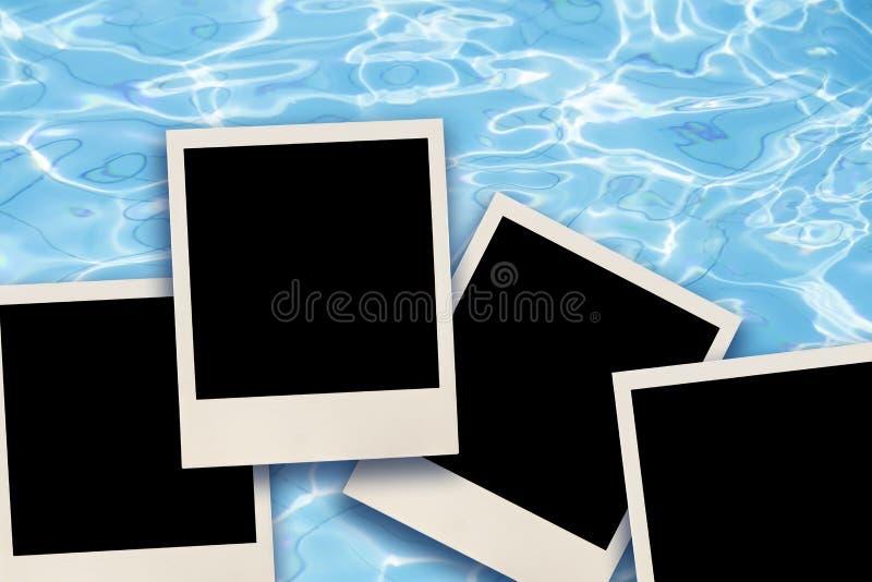 Leere Sofortbilder stockfoto