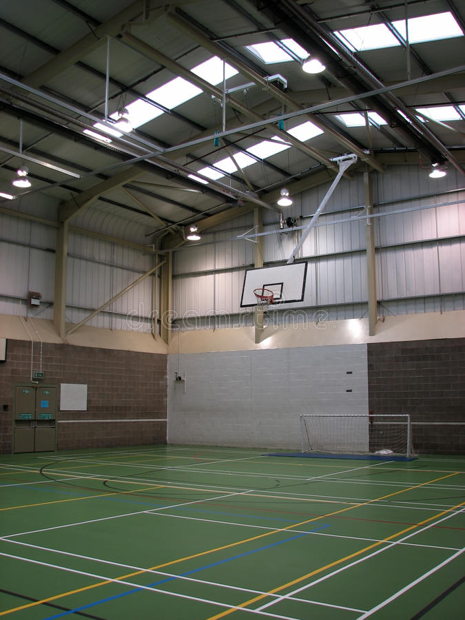 Download Leere Sporthalle stockbild. Bild von leer, spiele, spiel - 33672033