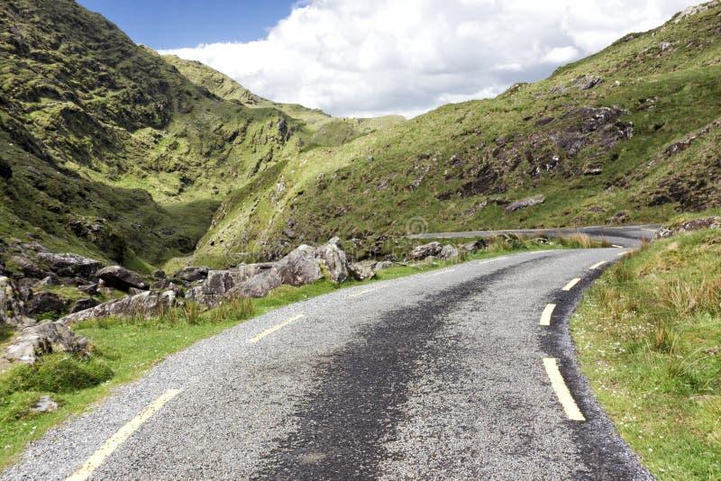 Leere Straße Irland 0025 lizenzfreie stockbilder