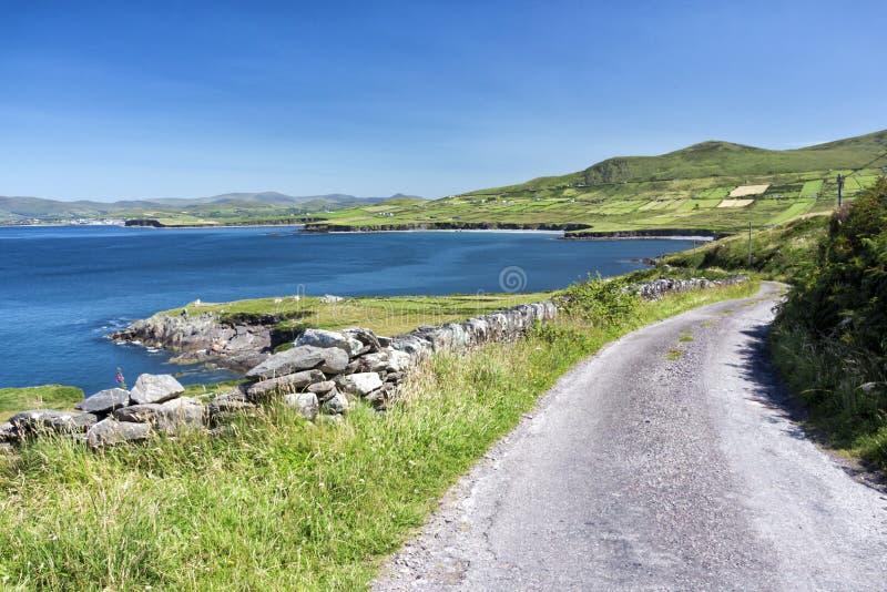 Leere Straße Irland 0029 lizenzfreie stockfotos