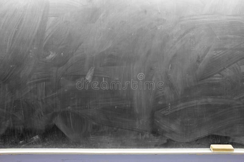 Leere Tafel mit Radiergummi lizenzfreie stockfotografie