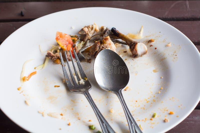Nach Füllung Essen