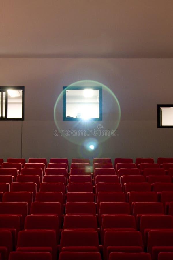 Leere Theater-Lagerung stockfotografie