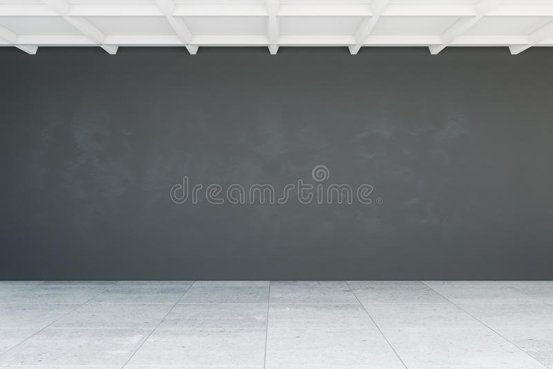 Leere Wand im Raum vektor abbildung