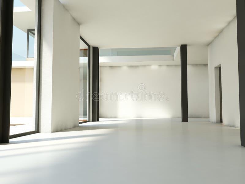 Leere Wohnung stockbild