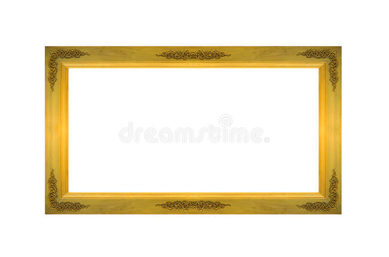 Leeren Sie altes Rechteck-Holzrahmen mit Copyspace, um das Foto oder Text einzugeben, die auf weißem Hintergrund lokalisiert werd lizenzfreie stockfotos