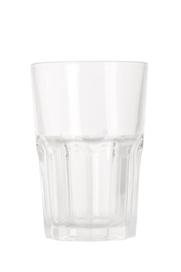 Leeren Sie Wasserglas stockfotos