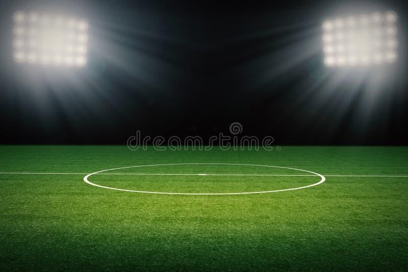 Leerer Fußballplatz lizenzfreies stockfoto