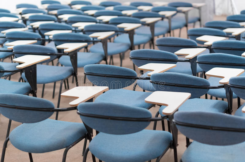 Leerer Konferenzsaal stockfoto