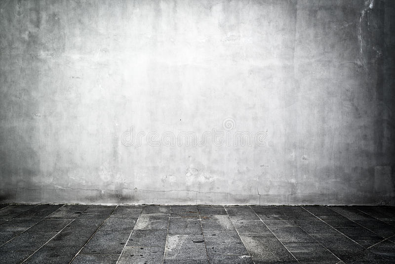 Leerer Raum als Hintergrund stockbild