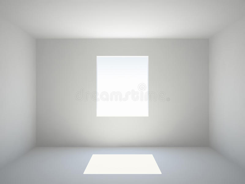 leerer raum mit fenster lizenzfreies stockbild bild 20382246. Black Bedroom Furniture Sets. Home Design Ideas