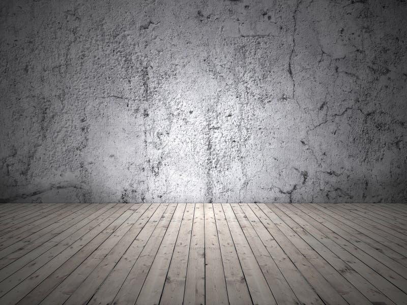 Leerer Raum mit Licht stockfotografie