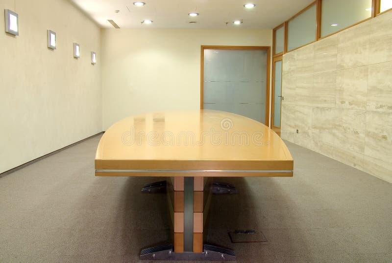 Leerer Sitzungssaal stockfoto