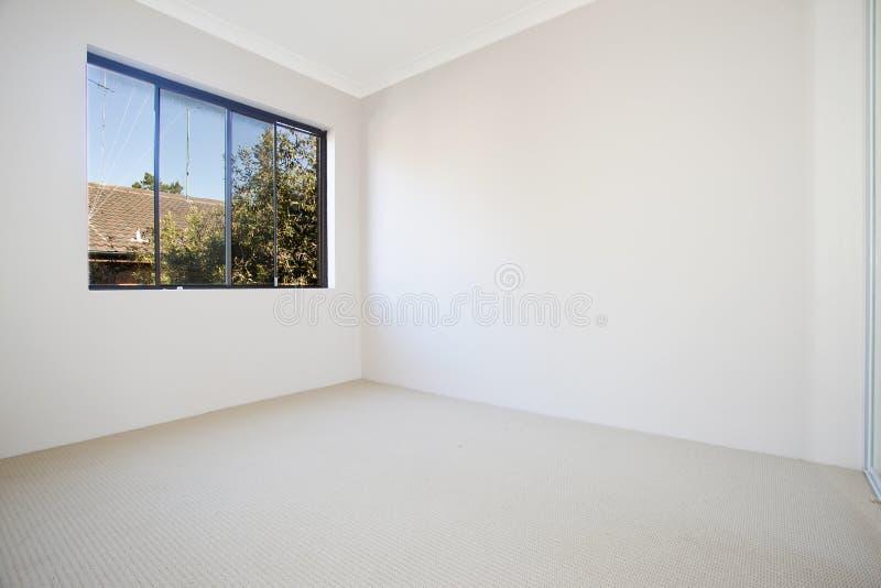 Leerer weißer Raum lizenzfreie stockfotografie