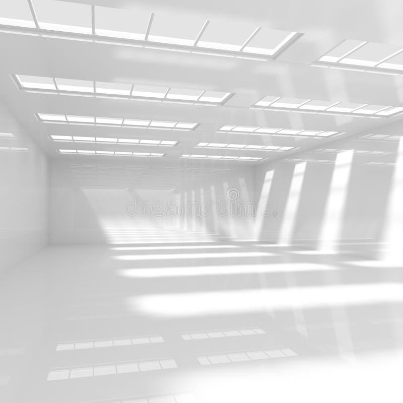 Leerer weißer Raum vektor abbildung