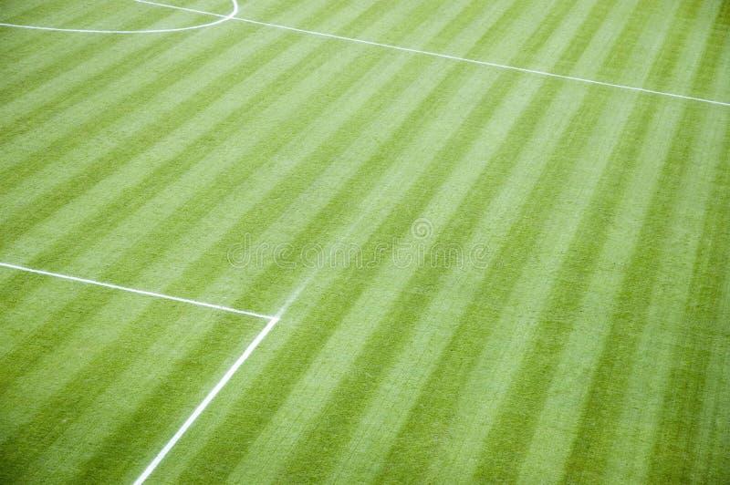 Leeres Fußball-Nicken lizenzfreie stockfotos