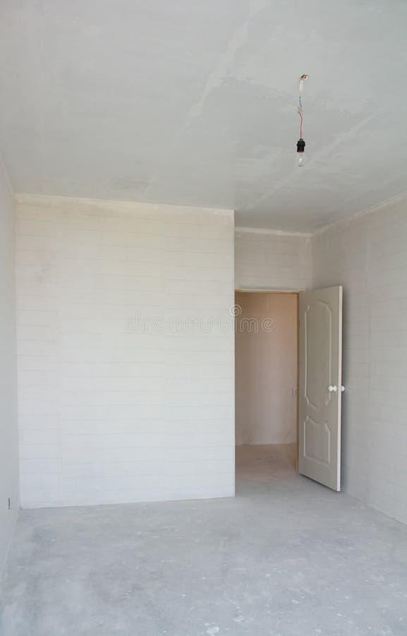 Leeres Haus im Bau lizenzfreies stockbild