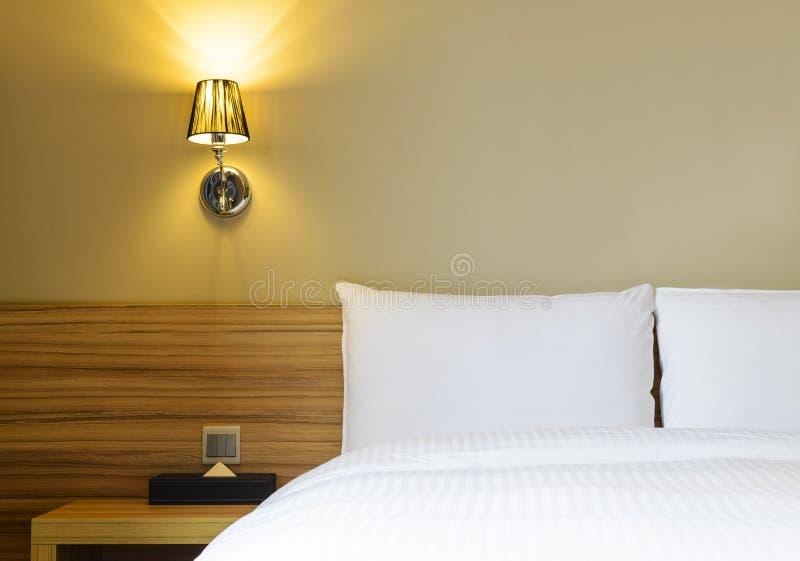 Leeres Hotelzimmer stockbilder