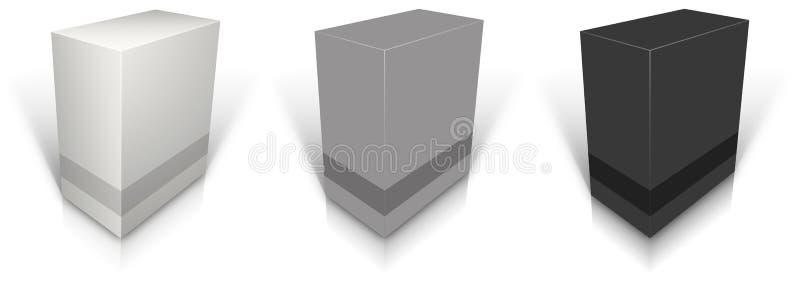 Leeres Kleinproduktpaket vektor abbildung