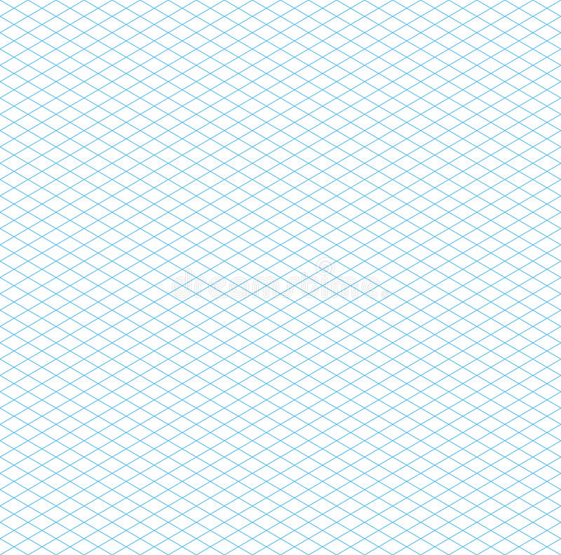Leeres nahtloses isometrisches Schachbrettmuster lizenzfreie abbildung