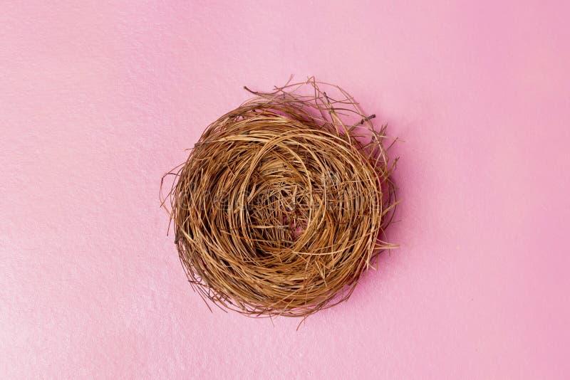 leeres Nest stockbild