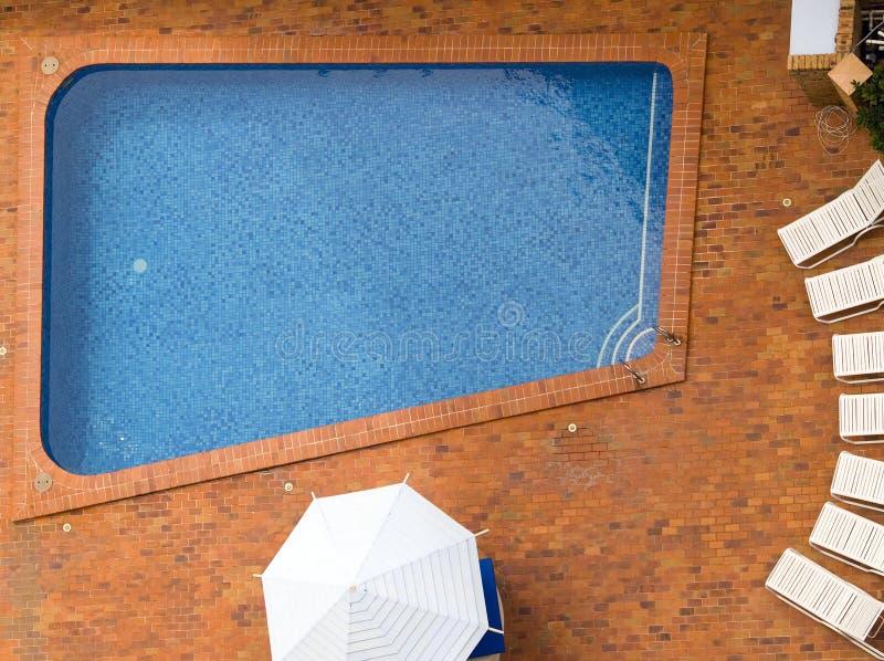 Leeres Pool lizenzfreie stockbilder