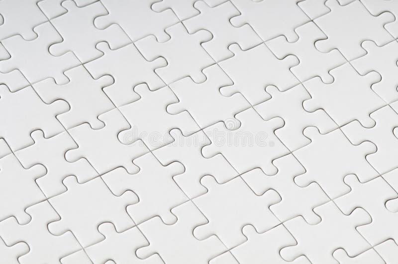 Leeres Puzzlespiel stockfotos