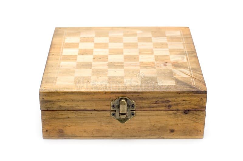 Leeres Schachbrett stockbild