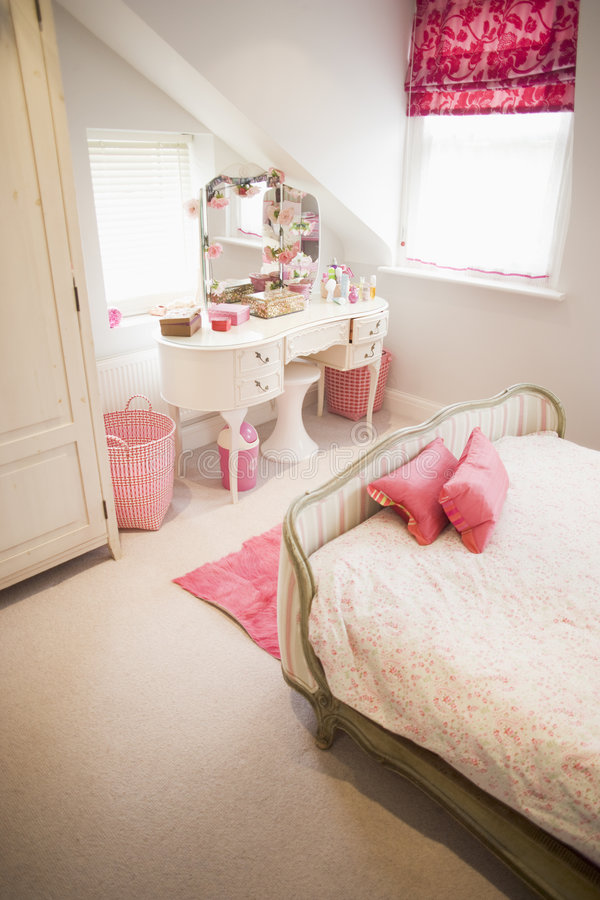 Leeres Schlafzimmer lizenzfreies stockfoto