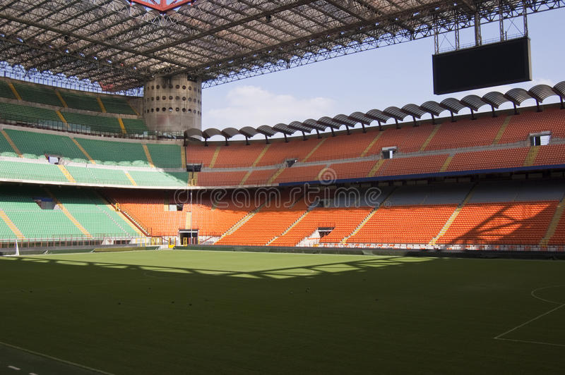 Leeres Stadion stockfotos