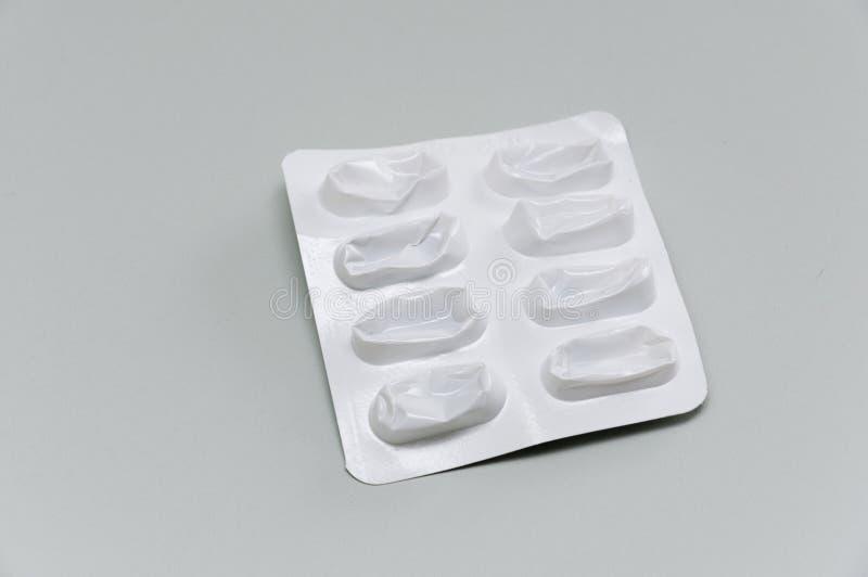 Leeres Tablettepaket lizenzfreies stockfoto